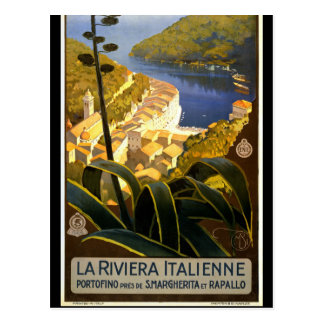 Vintage Retro Italy Travel Tourism Postcard