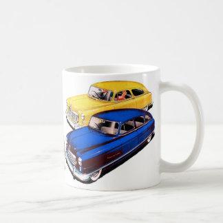 Vintage Retro Kitsch Car Nash Ambassador Art Classic White Coffee Mug