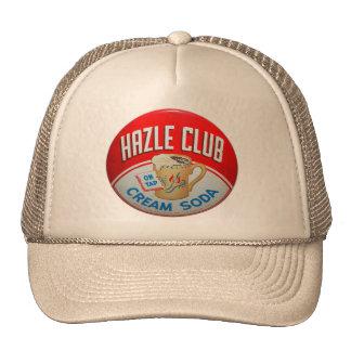 Vintage Retro Kitsch Hazle Club Club Soda Sign Trucker Hat