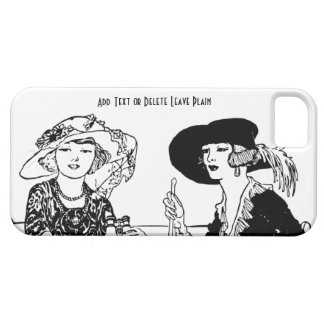 Vintage Retro Ladies at Lunch 1920s Fashion iPhone 5 Case