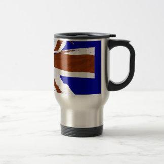 Vintage Retro look Union Jack Art Travel Mug