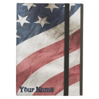 Vintage Retro Old Glory US Flag Personalized Case For iPad Air