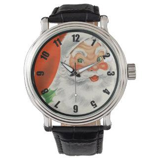 Vintage Retro Santa Claus Watch