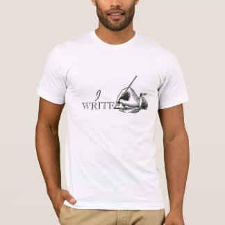 Vintage Retro Simple Gift For Writers T-Shirt