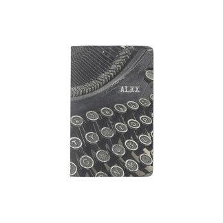 Vintage Retro Typewriter | Custom Pocket Moleskine Notebook