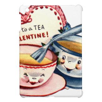 Vintage Retro Valentine's Day iPad Mini Cover