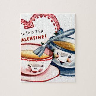 Vintage Retro Valentine's Day Jigsaw Puzzle