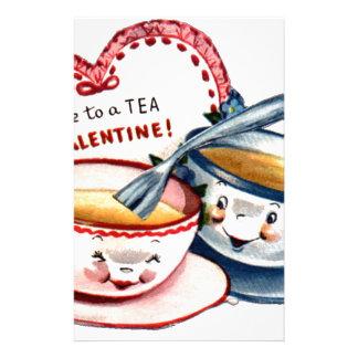 Vintage Retro Valentine's Day Stationery