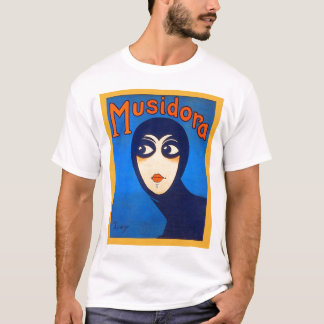Vintage Retro Women Theater Musidora Jeanne Roques T-Shirt