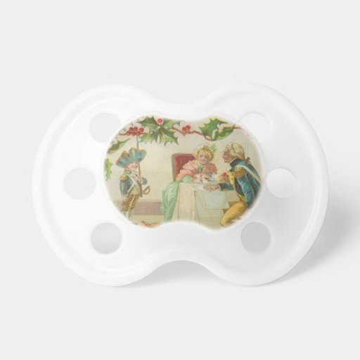 Vintage Revolutionary War Christmas Pacifiers