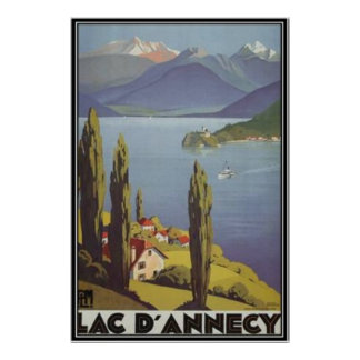 Vintage Rhône-Alpes, Annecy , France - Poster