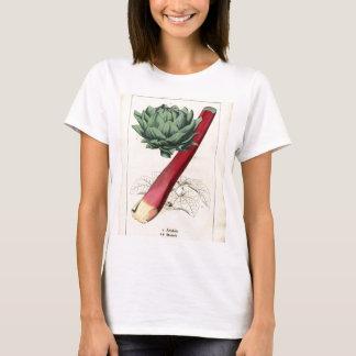 Vintage Rhubarb Botanical Print T-Shirt
