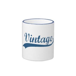 Vintage Ringer Coffee Mug