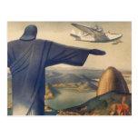Vintage Rio De Janeiro, Christ the Redeemer Statue