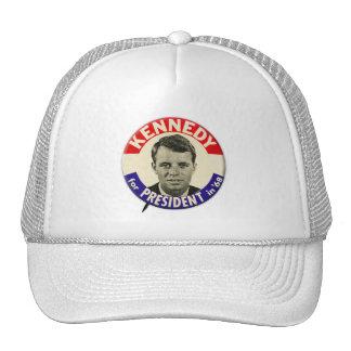 Vintage Robert Kennedy For President Pin 1968 Trucker Hat
