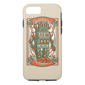 Vintage Robot Tough Phone Case