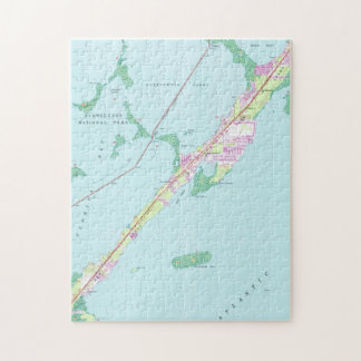 Vintage Rock Harbor Florida Map (1947) Jigsaw Puzzle