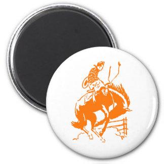 VIntage Rodeo 2 Inch Round Magnet