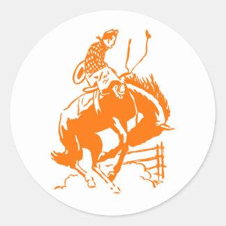 VIntage Rodeo Round Sticker