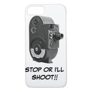 Vintage Roll Film Movie Camera iPhone 7 Case