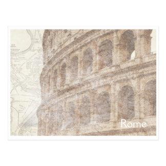 Vintage Roman Colosseum Postcard