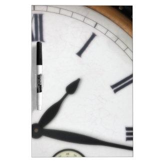 Vintage Roman Numeral Clock Dry Erase Board