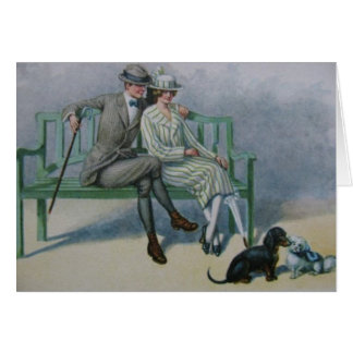 Vintage - Romance in the Park, Card
