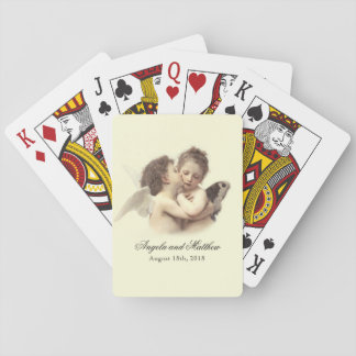 Vintage Romantic First Kiss Poker Deck