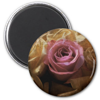 Vintage Romantic One of a Kind Love, A Single Rose Magnet