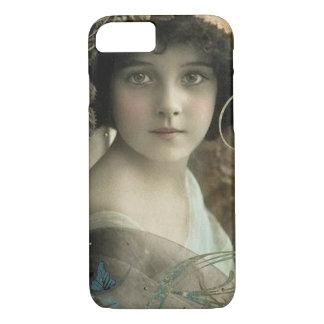 Vintage Romantic Woman iPhone 7 Case