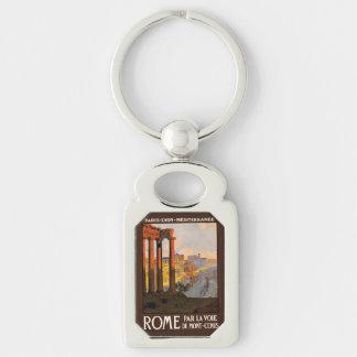 Vintage Rome Italy key chain