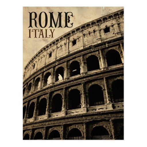 vintage rome italy postcard  Zazzle