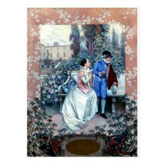 Vintage Romeo and Juliet poster Postcard