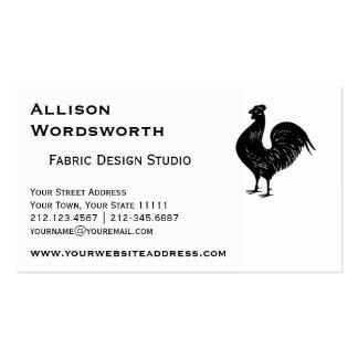 Vintage Rooster Business Card