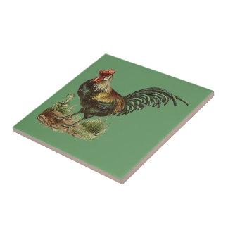 ViNTaGE ROOsTER Ceramic Tiles