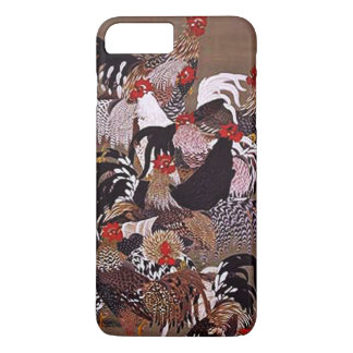 Vintage Roosters Art iPhone 7 Plus Case
