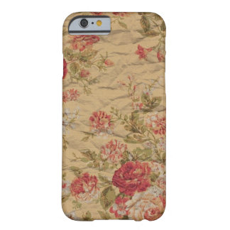 Vintage Rose Barely There iPhone 6 Case