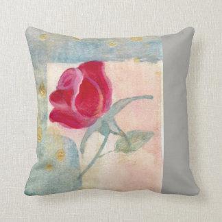 Vintage Rose Decorative Pillow