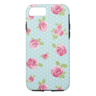 Vintage Rose Floral Phone Case Shabby Chic