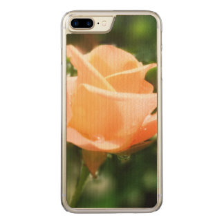 Vintage Rose Flowers Carved iPhone 8 Plus/7 Plus Case