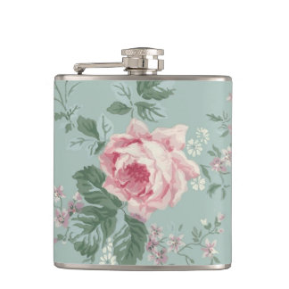 Vintage Rose French Chic Flask