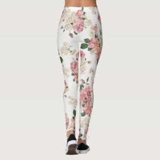 vintage rose leggings