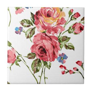 Vintage Rose Paper Tiles