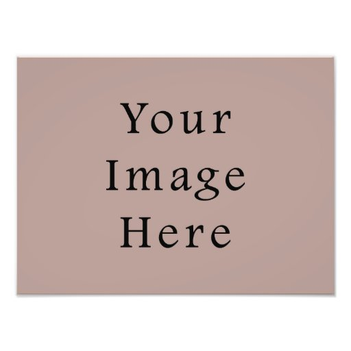 Vintage Rose Pink Color Trend Blank Template Photographic Print