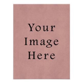 Vintage Rose Pink Lavender Parchment Paper Purple Photo Print