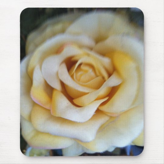 vintage rose printed mouse pad. mouse pad