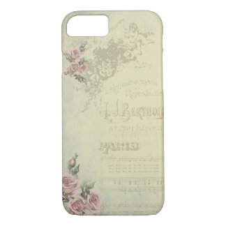 Vintage Rose - Shabby Chic iPhone 7 Case