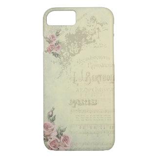 Vintage Rose - Shabby Chic iPhone 8/7 Case