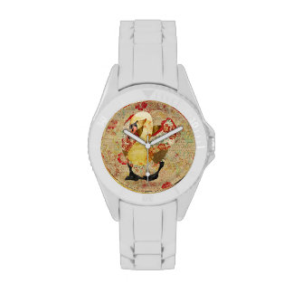 Vintage Rose Swan Watch