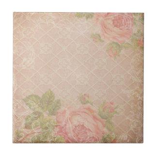 Vintage Rose Trellis Tile